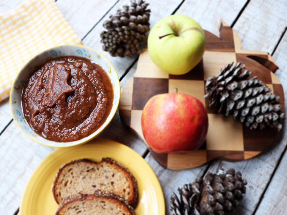 Slow Cooker Apple Butter with Chia