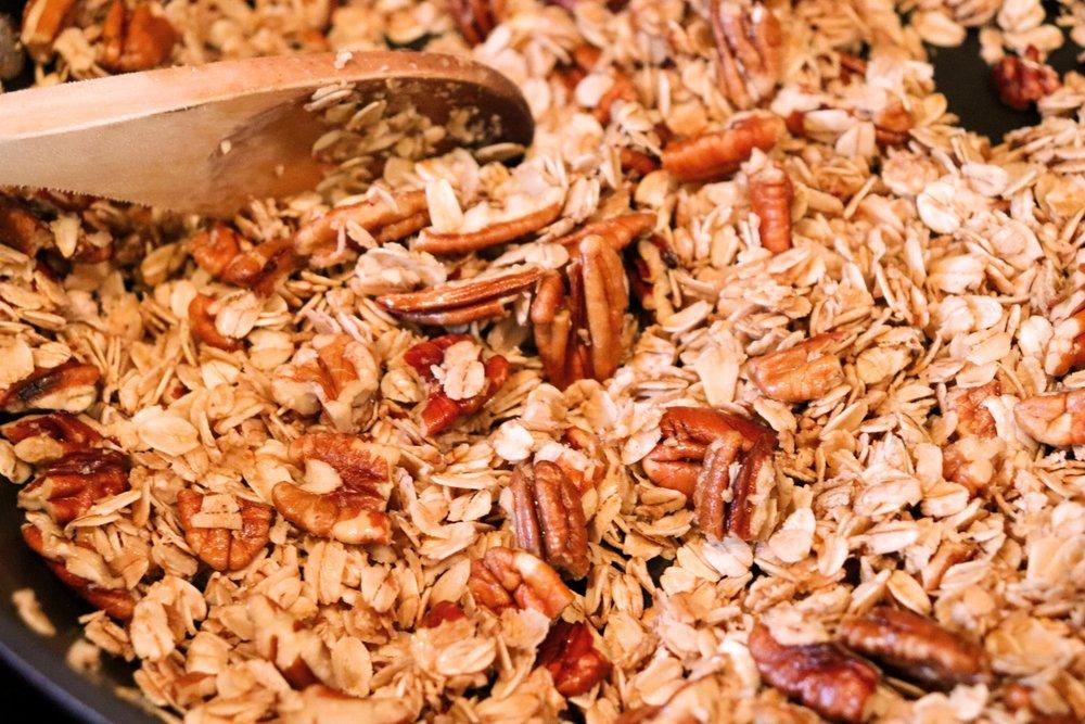 Pecan Pie Skillet Granola