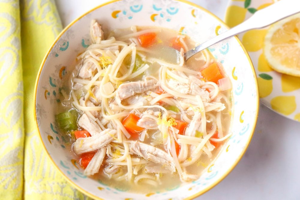 Immune Boosting Chicken Noodle Soup