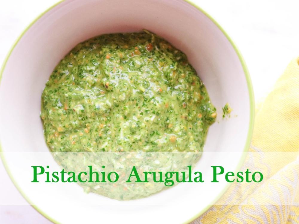 Pistachio Arugula Pesto