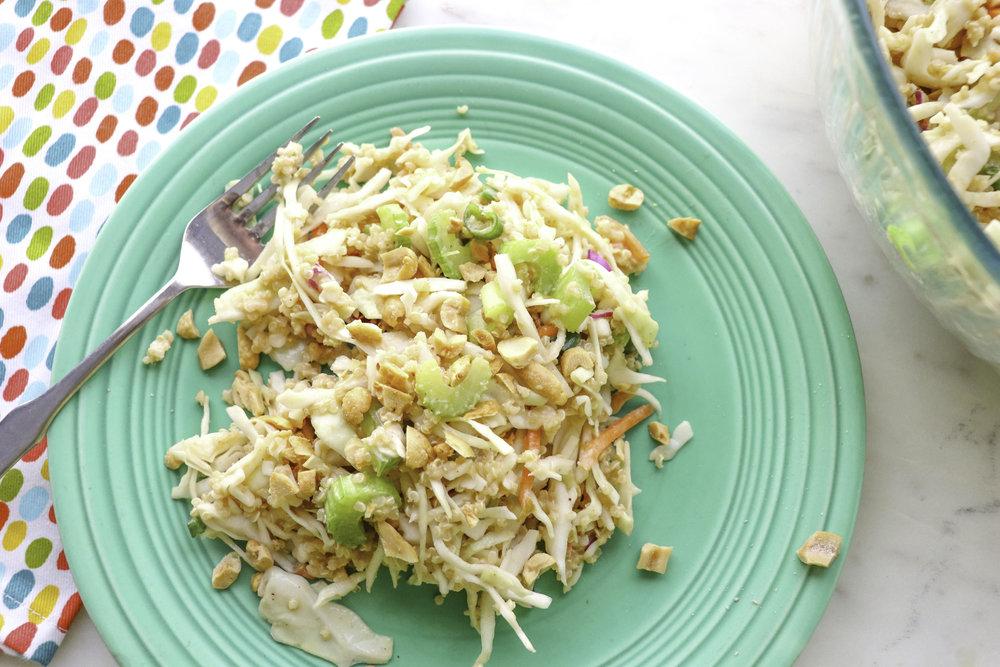 Asian Quinoa Slaw