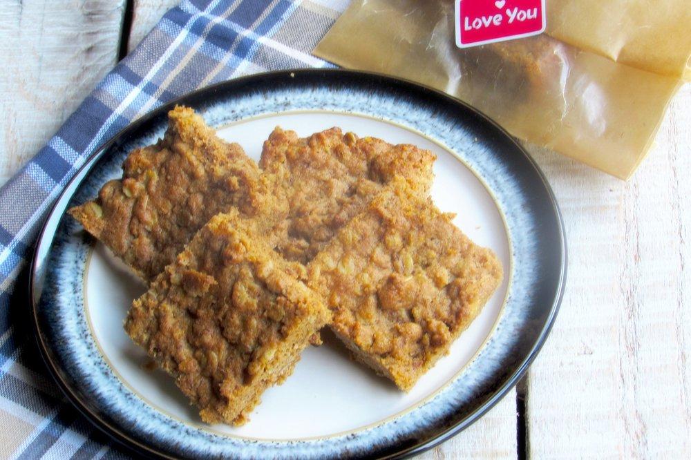 Almond Butter Oat Bars