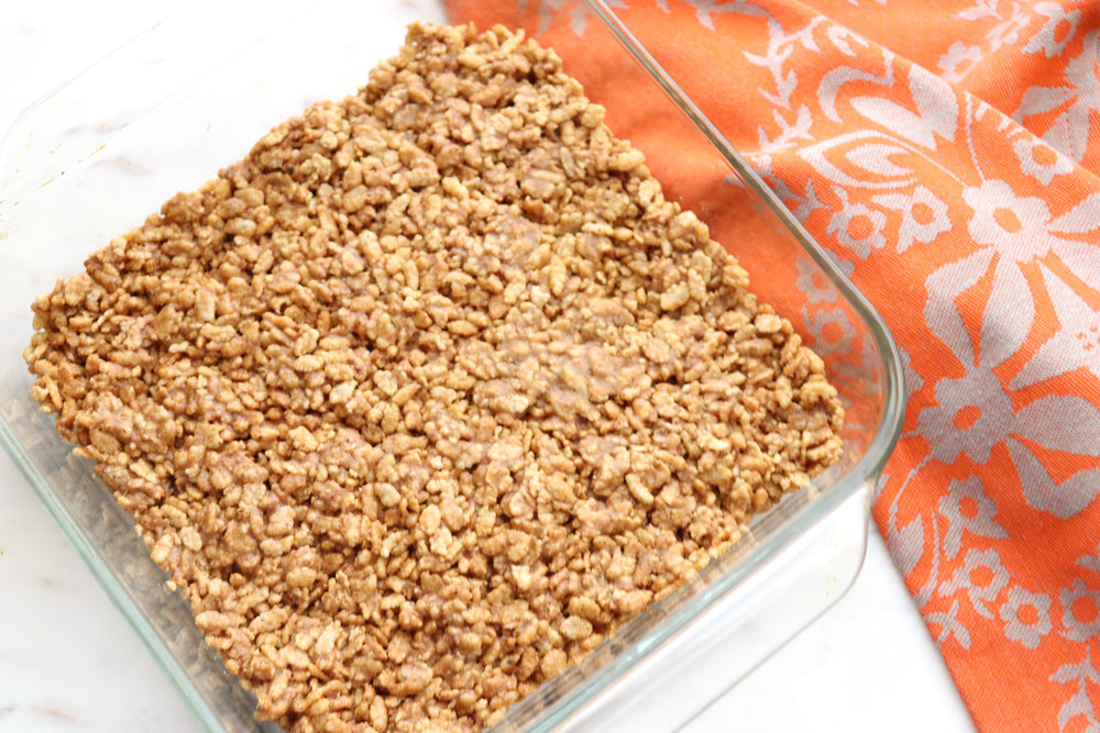 Almond Flax Crispy Treats