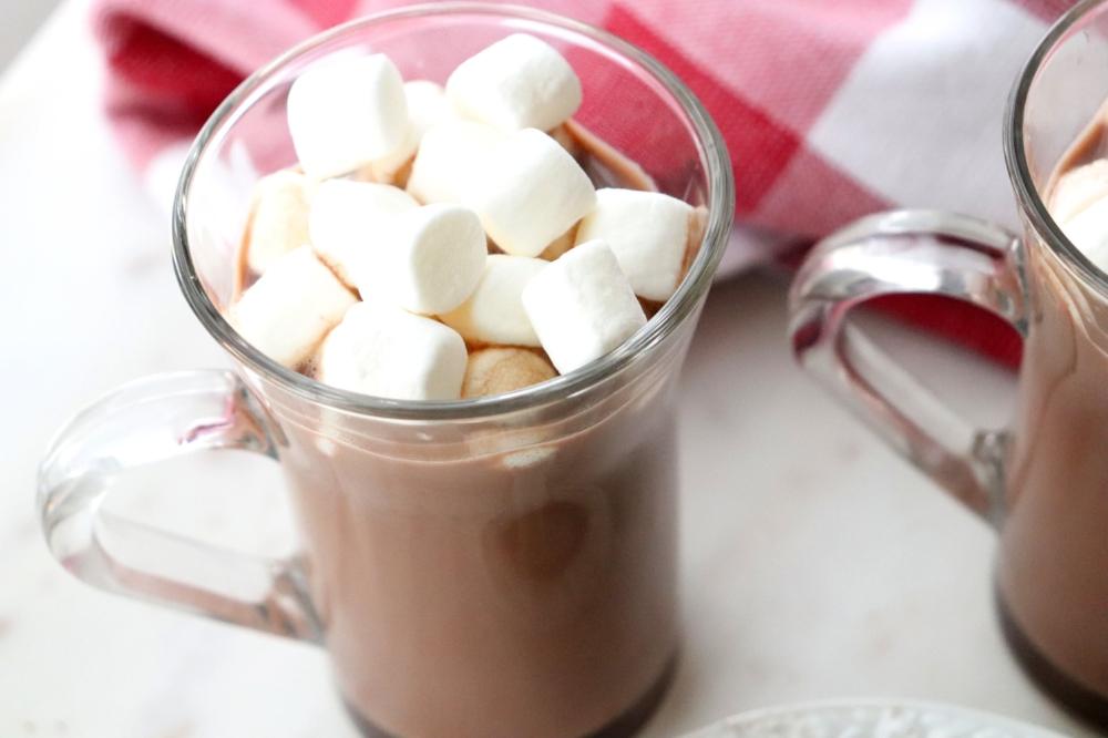 Chocolate Covered Cherry Hot Chocolate