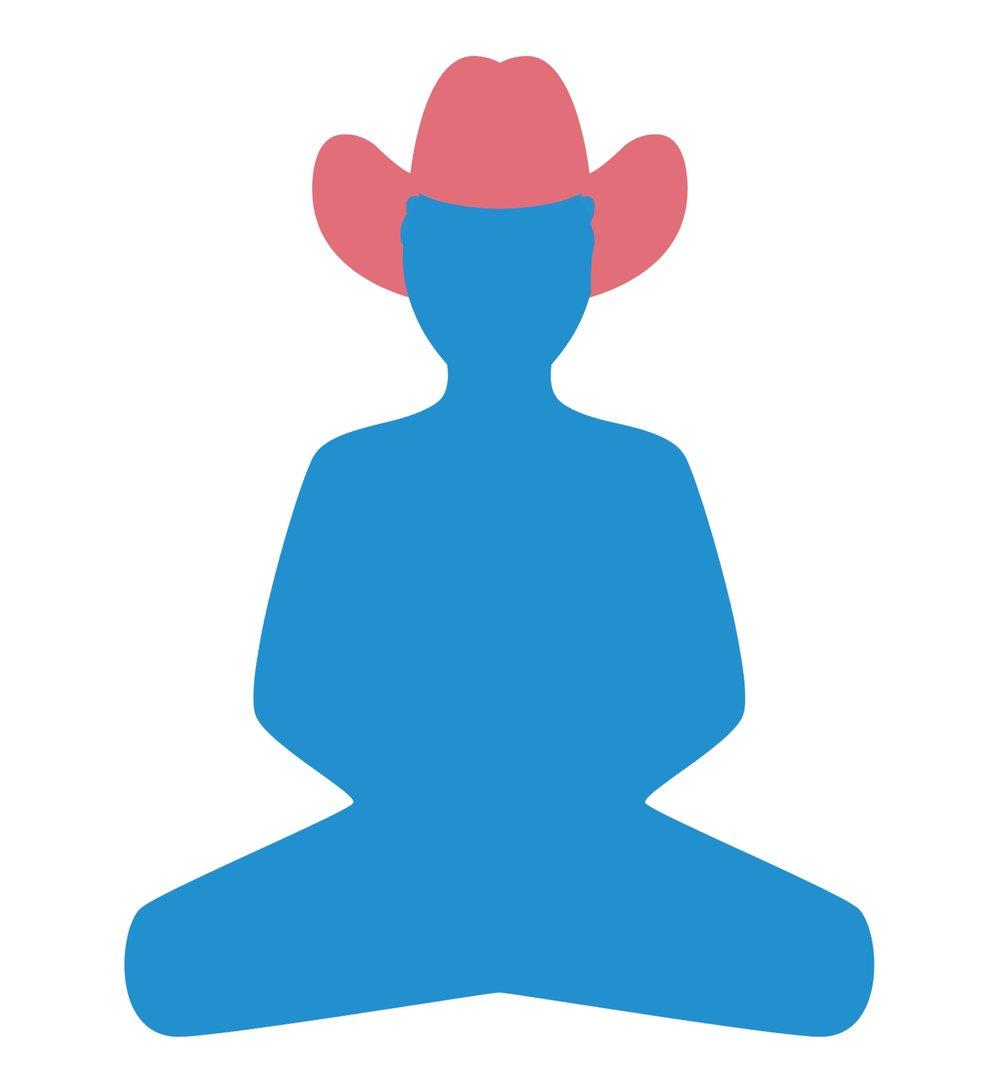 Buddhist Cowboy