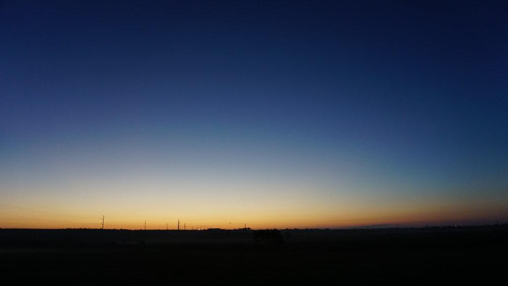 Amarillo Sunrise, September 10, 2018