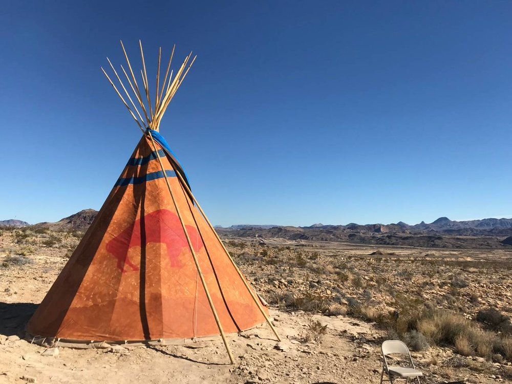 The Red Buffalo Tipis