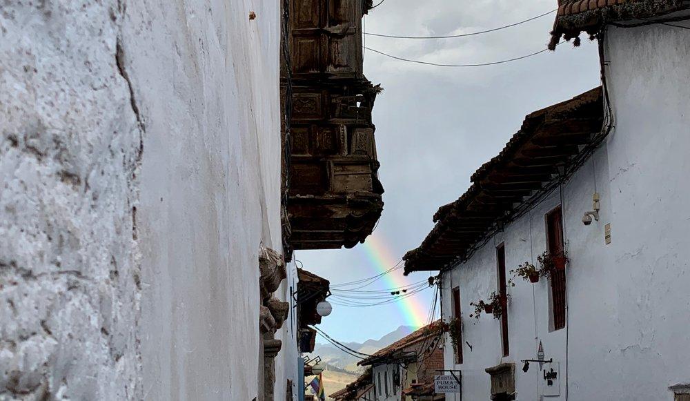 The Inca Worshipped The Rainbow