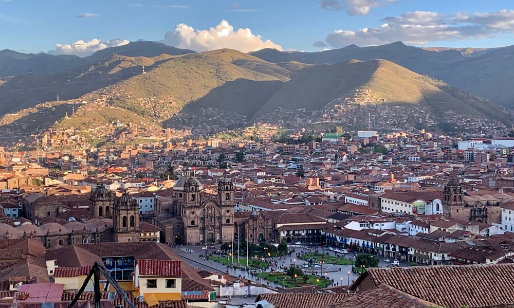 Above Cusco