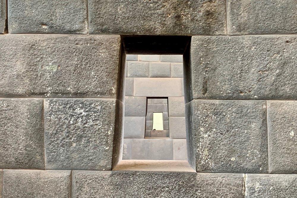 Window at Qorikancha