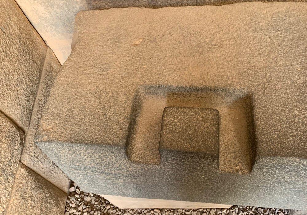 Stone locking technique at Qorikancha