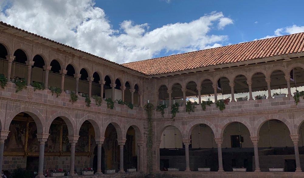 Qorikancha courtyard