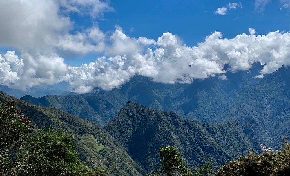 Vilcabamba mountain range
