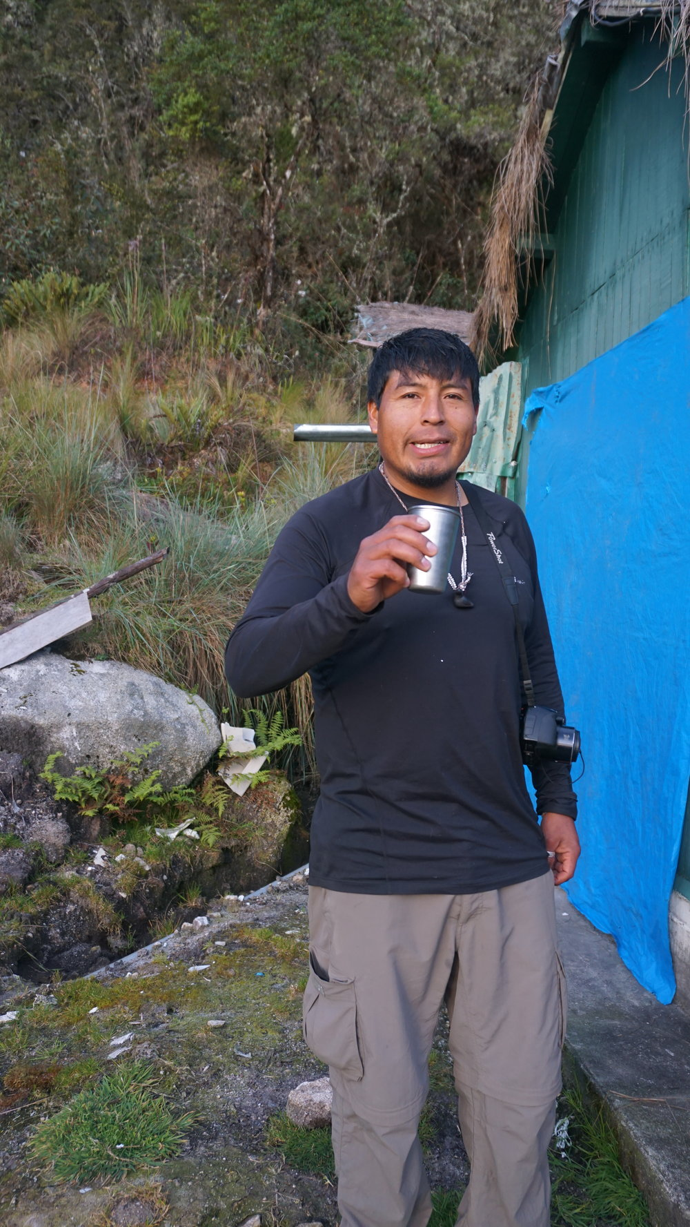 Our guide and friend, Reynaldo