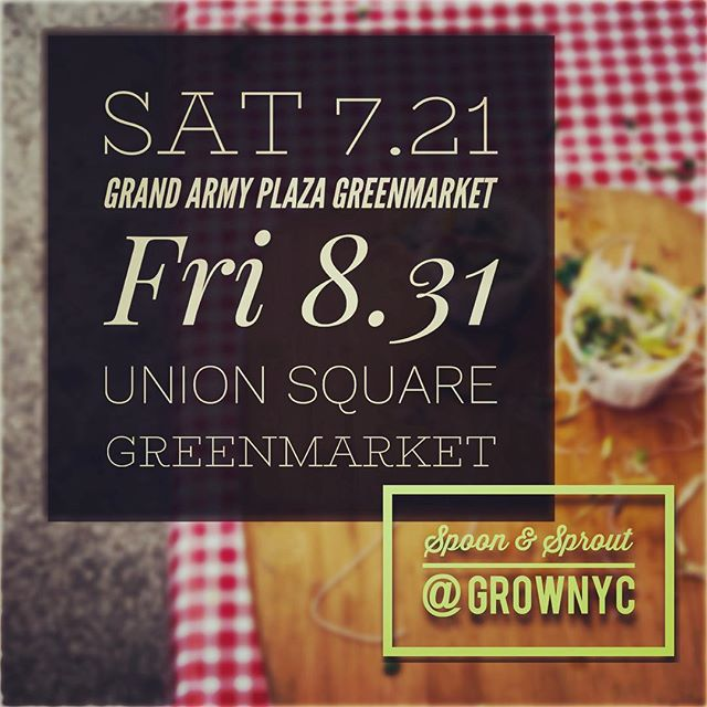 We'll be doing some funky fresh things with Napa Cabbage & Tamarind tomorrow at theUnion Square Greenmarket! From 10am - 1pm you can sample our new recipe & leave with the recipe! ...Did we mention it's free!? . . . . #plantbased #vegan #vegetarian #nycgreenmarket #nycfarmersmarket #vegancatering #vegetariancatering