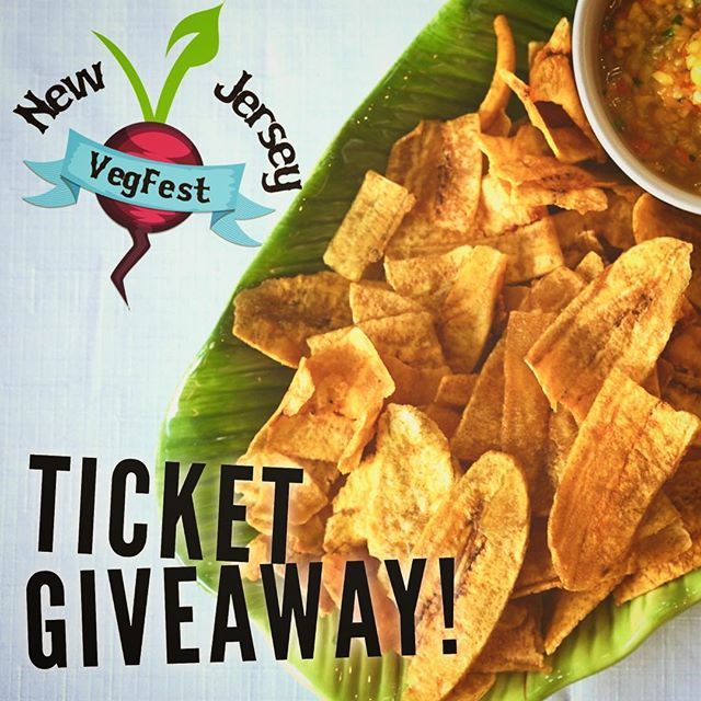 🎟🎟🎟We're giving away FREE TICKETS to this weekend's @njvegfest - WILL YOU GRAB 'EM?  The first 5 lucky winners will receive 2 DAY WEEKEND PASSES to the event, as well as 50% OFF their purchase at our tent! How do you win? Easy, just follow our catering biz @spoonandsprout on IG, then send us your screenshot for proof! 🤳 . . . . . . . .  #plantbased #plantbasedwholefoods #vegan #vegetarian  #njvegan #nycvegan #vegansnacks #vegsnacks #plantainchips #veganchips #vegansofig #njvegfest #vegfest #veganevents