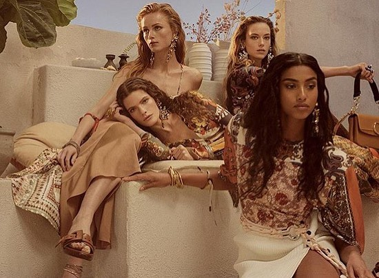 """""""A warm, soft parade"""" coming this Spring and Summer by the stunning @chloe! Campaign by #StevenMeisel under the Mediterranean sun. #ChloeSS19 . . . #ChloeGirls #ss19 #fashionweek #comingsoon #nudepalette #warmcolors #highfashion #couture #instyle #designer #details #lifestyle #luxury #musthave #model #art #mood #springfashion #summerstyle #whattowear #editor #fashioneditor #fashion #style #europe #newyork #citystyle"""