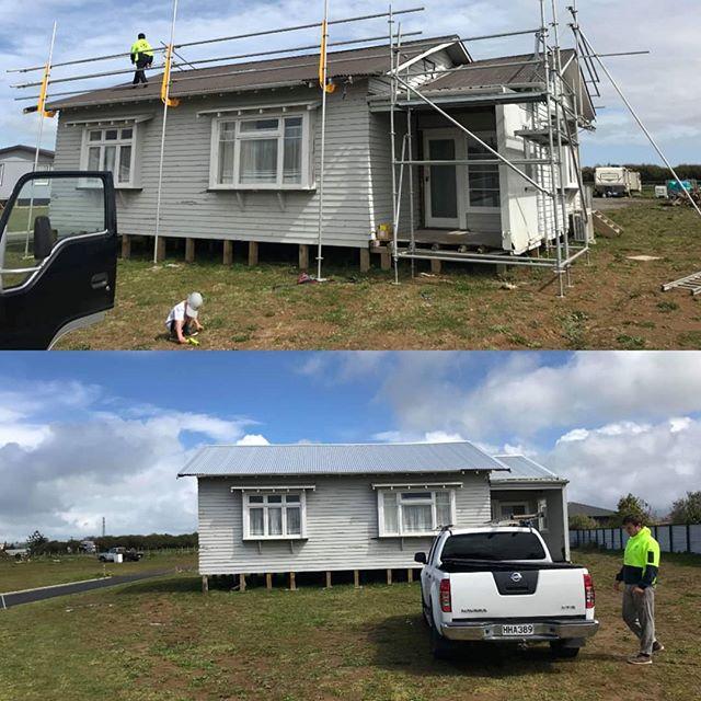 #beforeandafter #stratford #newzealand #roofing