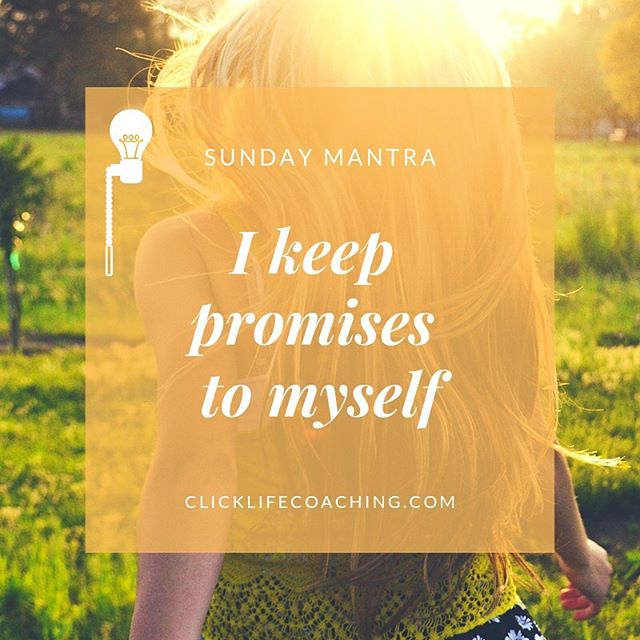 How are you all feeling this fine Sunday morning?  #sundaymantra #clicklifecoaching #lifecoaching #followme #lifecoach #inspiration #integrity #promises #lifelessons #selfimprovement #selfdevelopment #personaldevelopment #intentions #goals #transformation #motivation