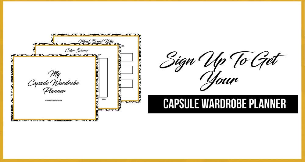Capsule Closet Challenge Graphic