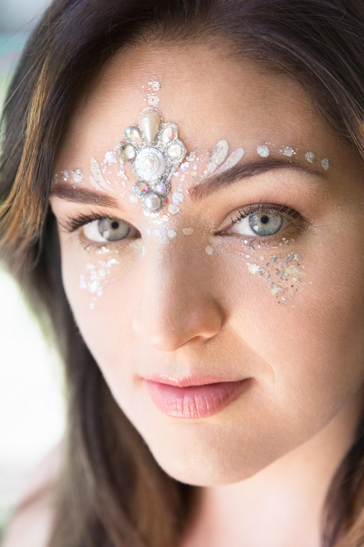 Festival Makeup - Bling bling