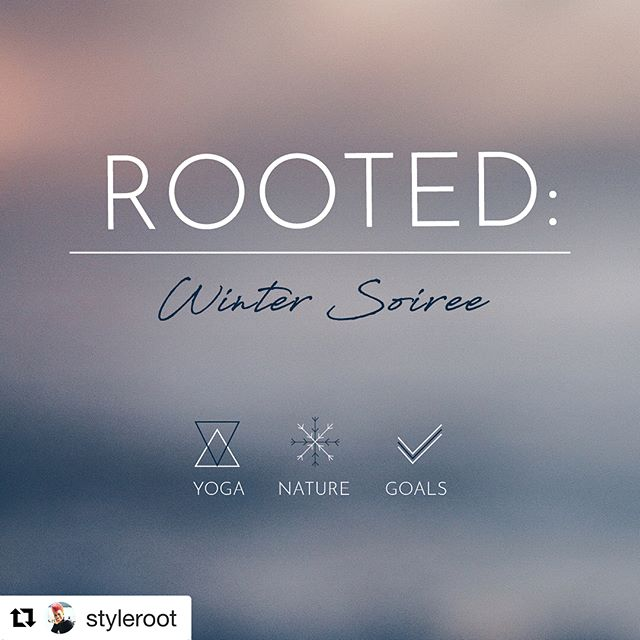 "Join @styleroot for the next upcoming Rooted event Saturday Feb 17th. Anyone interested in donating swag for up to 15 people for the event please reach out to Trina directly. Love these events and bummed I won't be in NY to attend! So all y'all in town go for me :) #Repost @styleroot ・・・ Who's tryna get ROOTED with me next Sat?! 🤔🧘🏾‍♀️❄️✔️🙌🏾 Here's the 411... . . . ROOTED: is a seasonal #yoga soiree that helps us #honor progress at an #honest pace. 2018 is #fresh, so lets #focus our intentions and get #ROOTED in #Winter 🙏🏾✨ . . .  Join me on #Saturday, Feb. 17th, 3-5:30pm at @lululemonnyc #HUB17, as I lead, practice and discuss ""yoga🧘🏾‍♀️ + nature ❄️+ goals✔️""! Eventbrite RSVP 🔗in bio! . . .  Together, we will align our (inner and outer 👯‍♀️) effort w/ the energy of the season. Trusting this #natural✨ #flow, we will examine our productivity and #lifestyle choices w/ #clarity and #compassion. . . . ROOTED: seasonal yoga soirees are designed to bring and sustain #balance in our lives.⚖️ . . . What else you can expect???? *Savory #lunch 🍲provided by @tymefood ; ) ... *Curated seasonal well pack🛍 (or as others say, gift bag ; ) shout out to the homies @underthebaobab.co 🙏🏾😘 ... #Goodcompany 🤗 ... #Restorative #innerG 💖👊🏾⚖️ ... So you're coming right? 😄 RSVP 🔗 today!! I'm ROOTING for you!!!! 🤪😘 #corny but seriously... you won't want to miss this! 🙏🏾✨ #namaste"