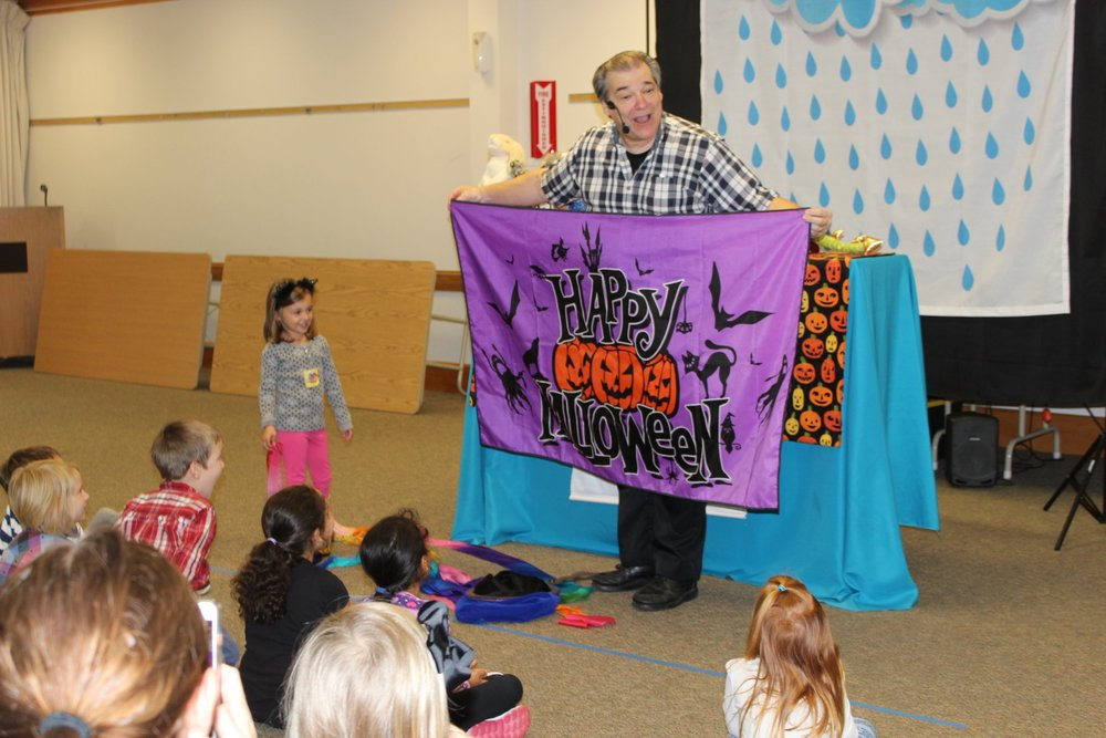 The Big Sleepover at Mullica Hill Library.