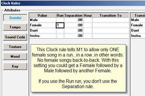 Clock Rule-Female Separation 2