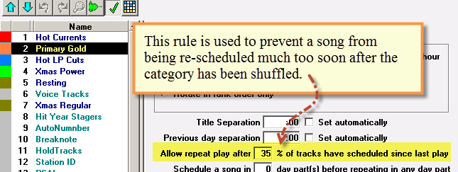 Allow Repeat Play After X-percent