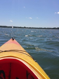 A picture taken on Lake  Calhoun Summer 2015