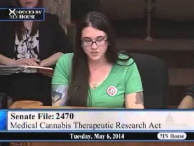 The first time I testified on behave of cannabis!