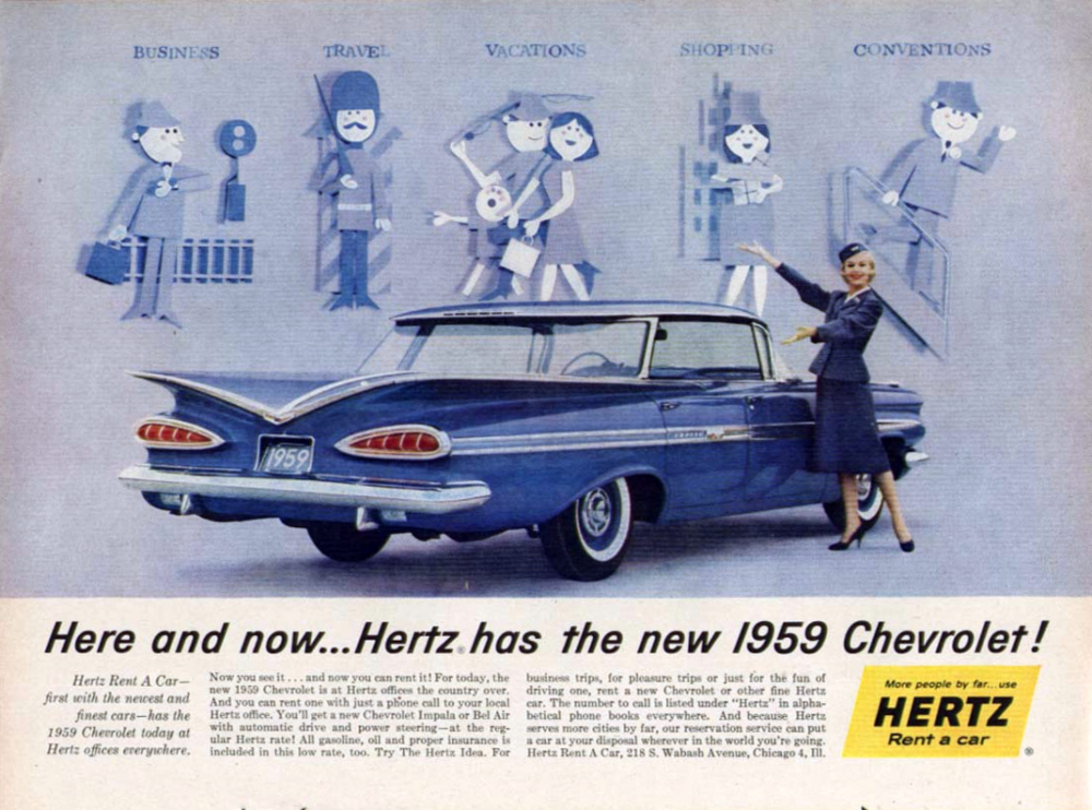 You can do it all when you rent a Chevrolet!