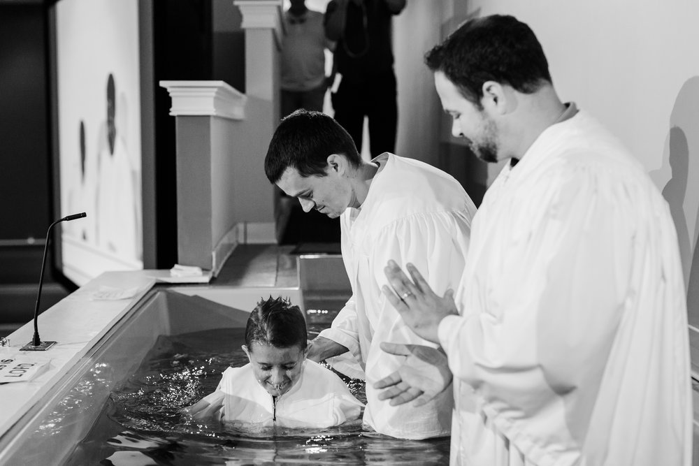 baptism - Show your faith.