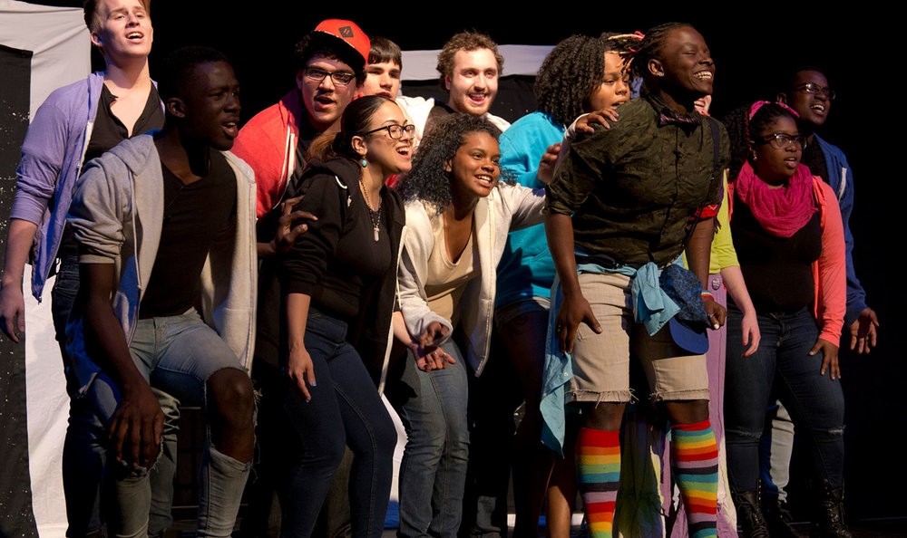 Culture empowers a new creative generation. - We want to ensure that culture plays a major role in developing creative, productive, and independent-minded young people in Massachusetts. Photo credit: The Theater Offensive, Boston