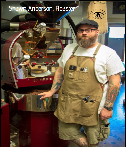 Master Roaster, Shawn Anderson