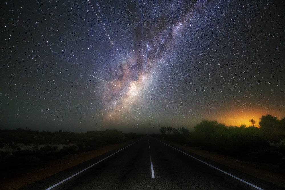 Take a left onto the Milky way
