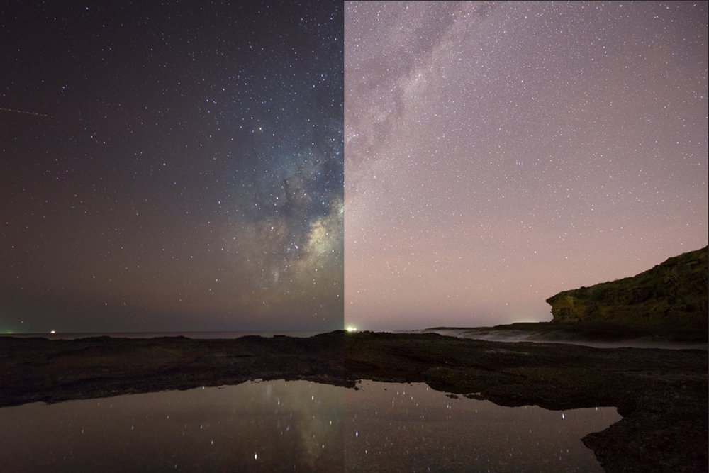 Milkyway & Lightroom -