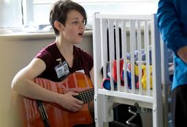 Young Singer Serving in the NICU