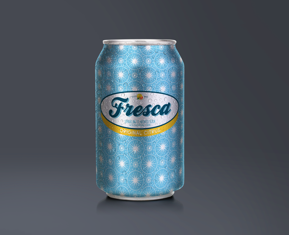 Fresca can redesign