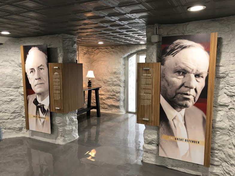 The newly redesigned Scopes Trial Museum in the Rhea County Courthouse basement in Dayton, TN.