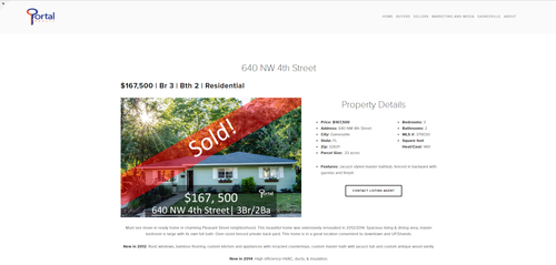 Listing Upgrades Portal Realty - For sale by owner listing template