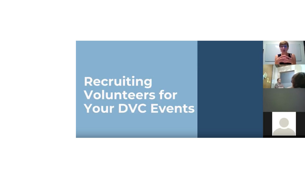 Volunteer Recruitment for Your Direct Voter Contact Event - Not getting as many volunteers as you'd like at your canvasses and/or phone banks? Watch our webinar on volunteer recruitment where we'll be reviewing how to get more volunteers at your direct voter contact events and even your Indivisible groups at large.