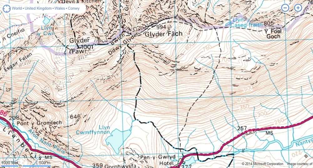 The Glyder Range
