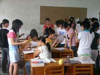 多民族的な教室