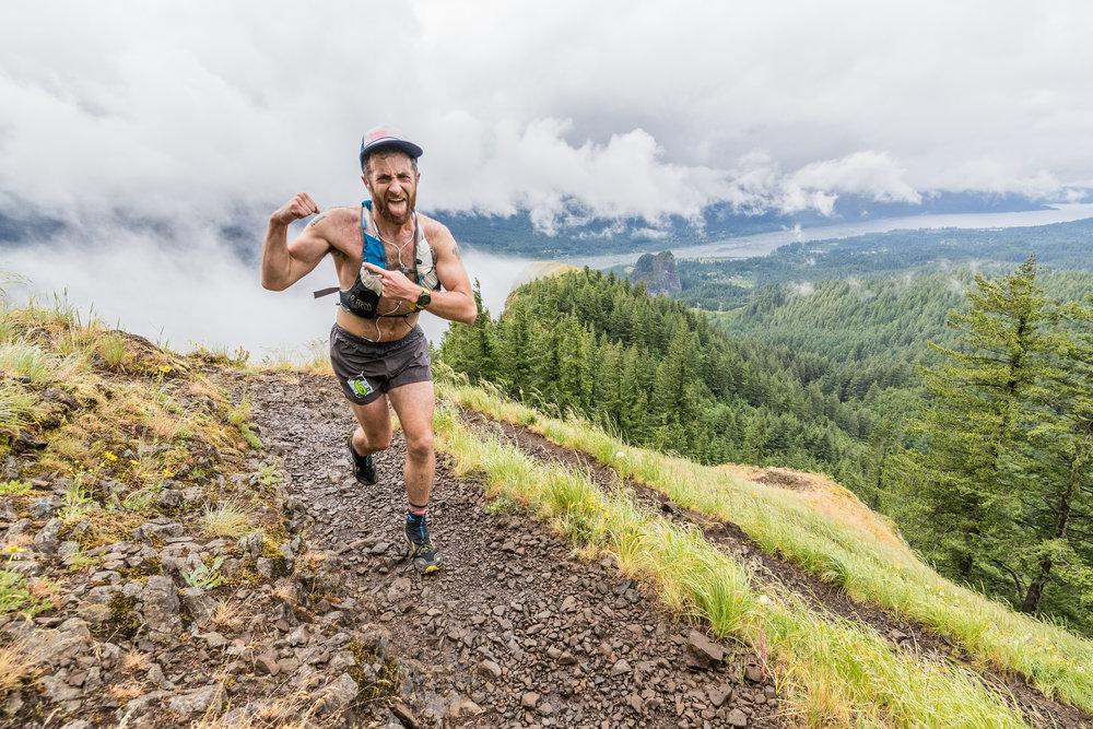 Joel Ballezza Running Beacon Rock 50k