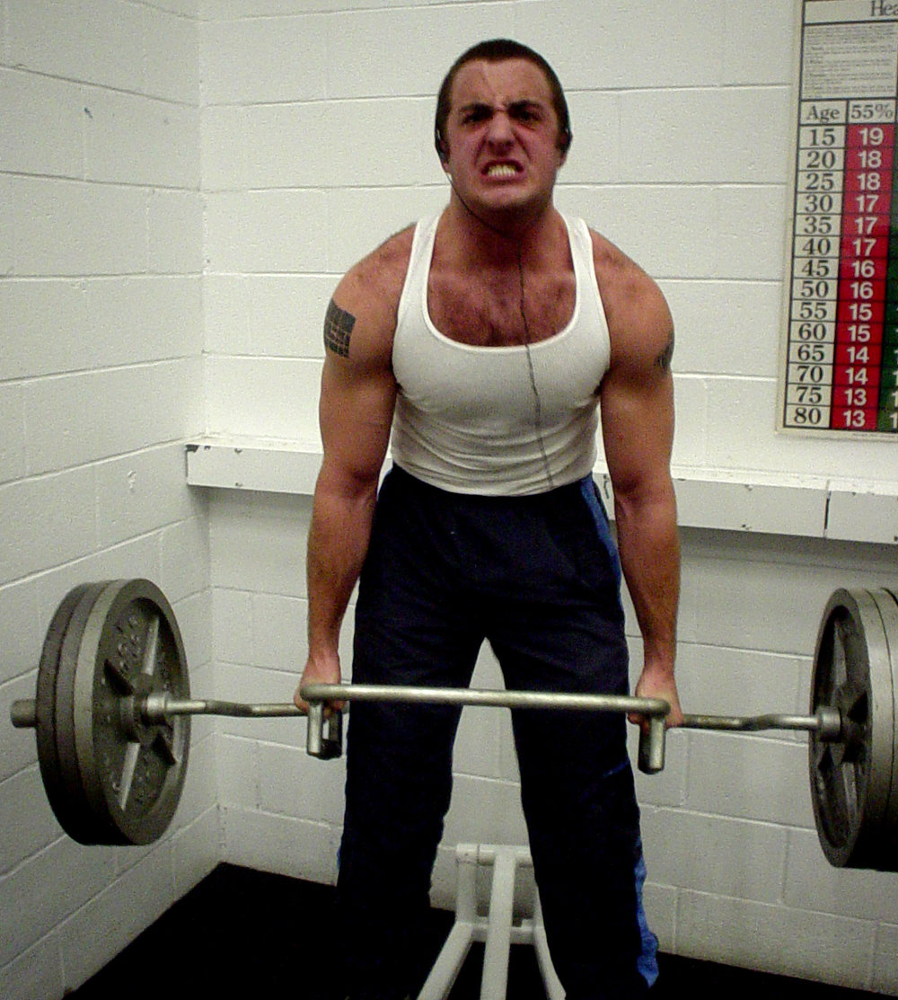 Joel Ballezza Lifting Heavy Weights
