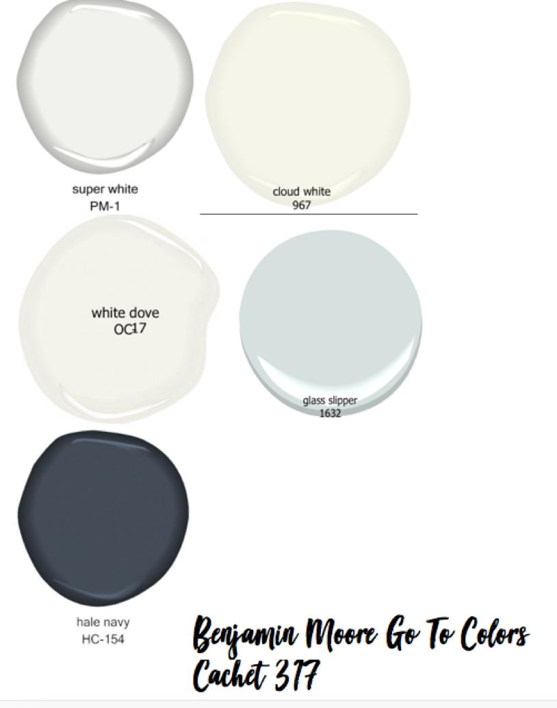 Ben Moore colors