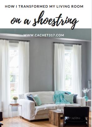 How I Transformed My Living Room On A Shoestring U2014 Cachet 317 Staging    Design