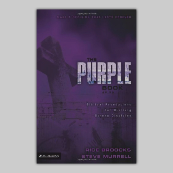 THE PURPLE BOOK HELPS YOU LEARN YOUR BIBLE IN A VERY EASY, STEP-BY-STEP WAY.