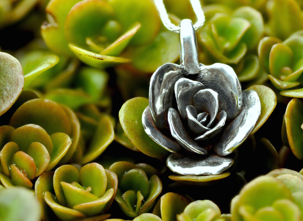 limelight-sedum-necklace-medium-silver-with-plant - 2.jpg